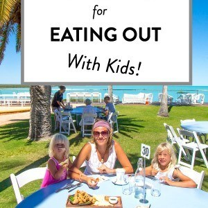 Our NUMBER 1 Tip for eating out with kids