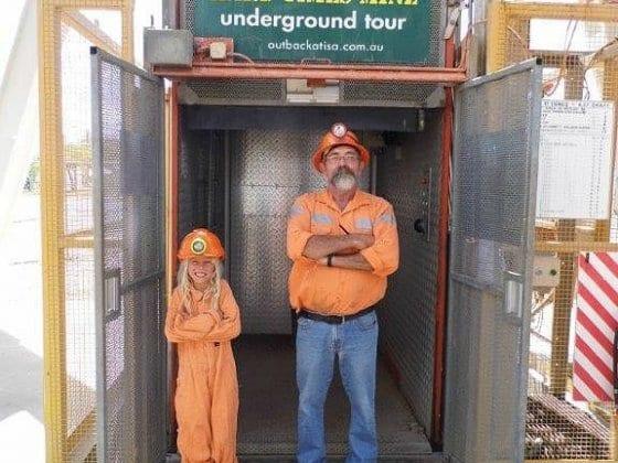 Mount Isa underground mine tour
