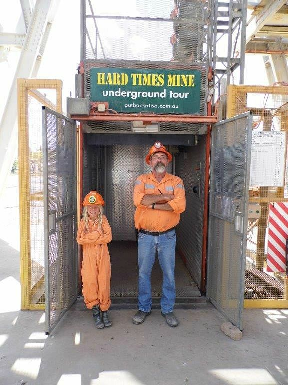 Mount Isa underground mine tour