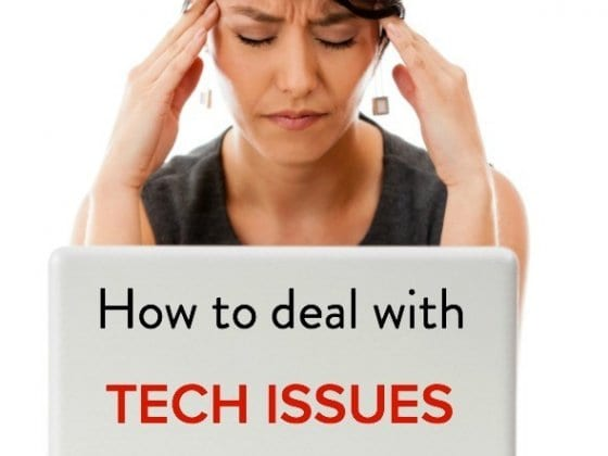 How to deal with TECH issues on the travel road