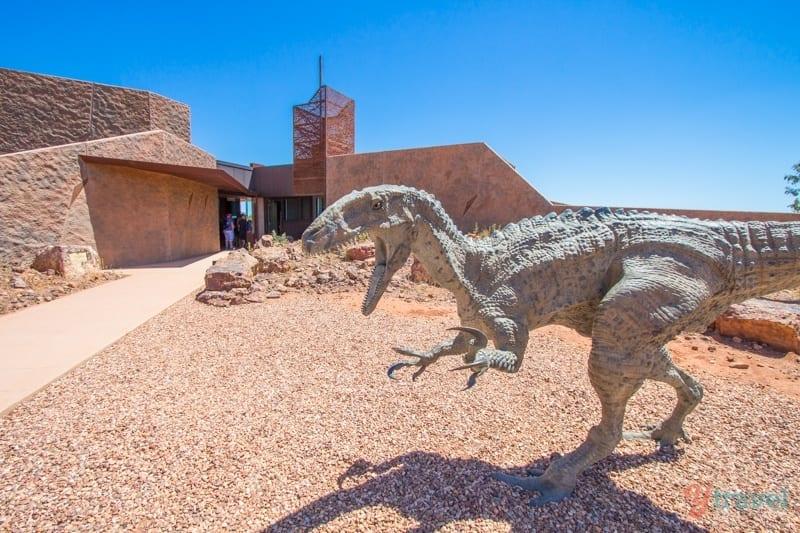 Museo de la Edad de los Dinosaurios de Australia - Winton, Outback Queensland
