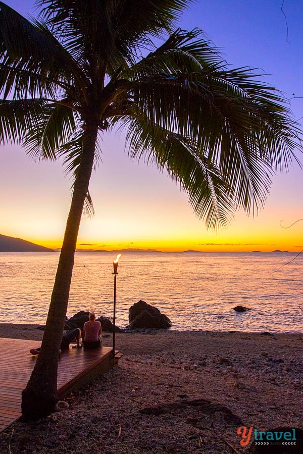Sunset on Daydream Island, Queensland, Australia