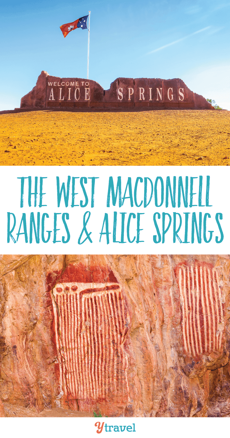 Discover the natural beauty of The West MacDonnell Ranges & Alice Springs!