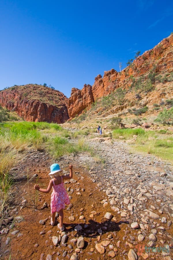 Glen Helen Gorge - West MacDonnel Ranges, Northern Territory, Australia