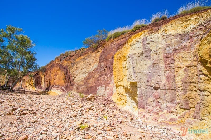 Ochre Pits - West MacDonnel Ranges, Northern Territory, Australia