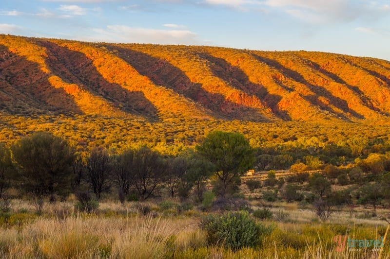 Sunrise in the West MacDonnel Ranges, Northern Territory, Australia