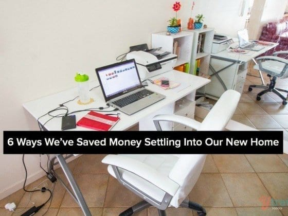 6 Ways We've Saved Money Settling Into Our New Home