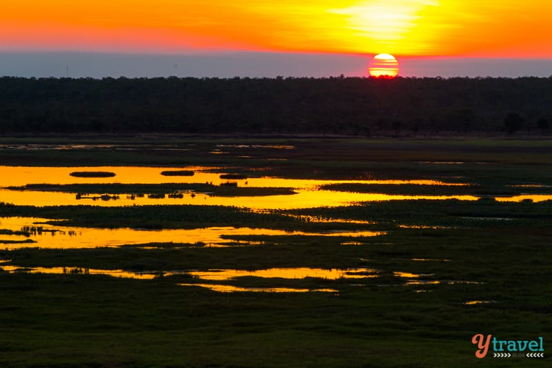 Sunset in Kakadu National Park, Northern Territory, Australia