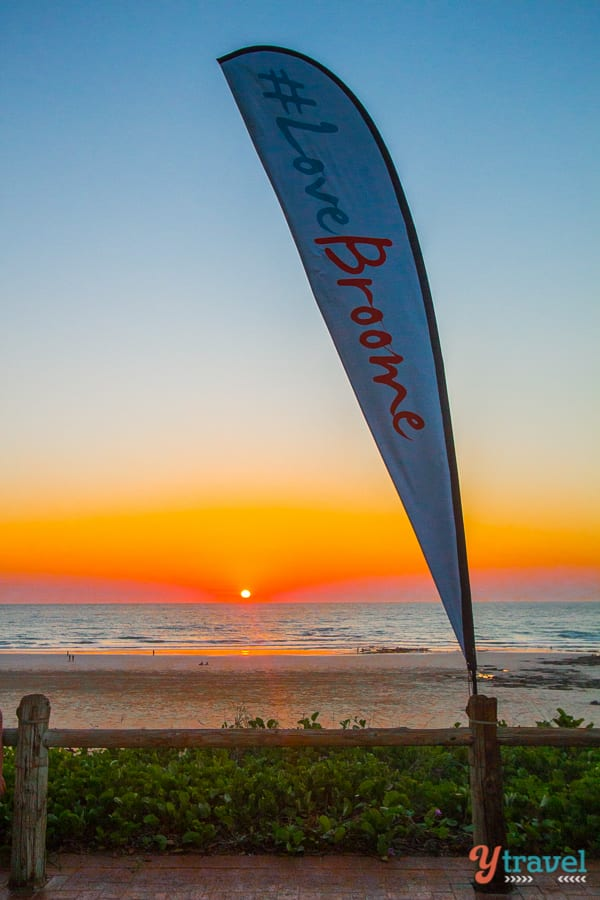 Sunset at Cable Beach, Broome, Western Australia