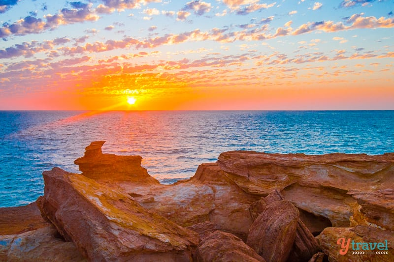 Sunset at Gantheaume Point, Broome, Western Australia