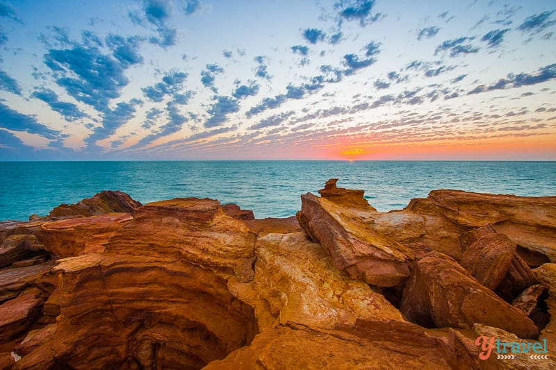 Sunset at Gantheaume Point, Western Australia