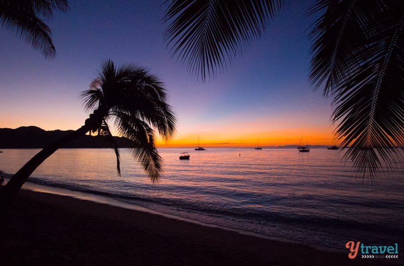 Sunset on Magnetic Island, Queensland, Australia