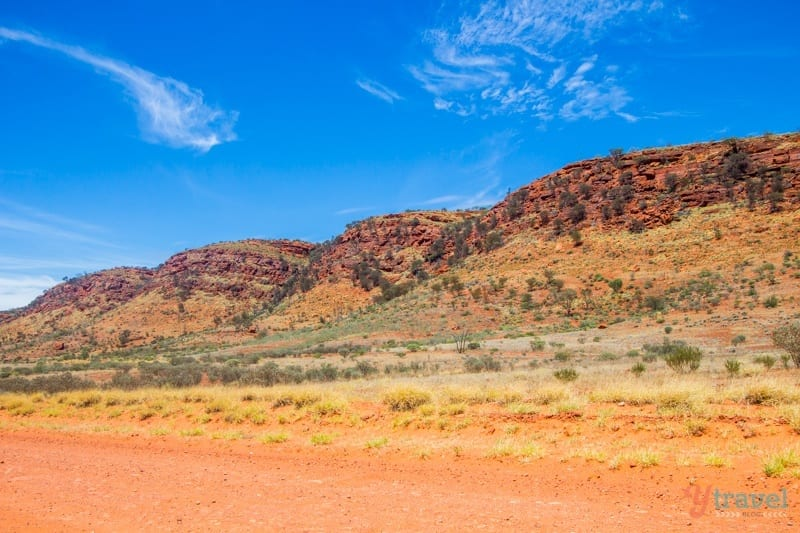 Red Centre Way - West MacDonnel Ranges, Northern Territory, Australia