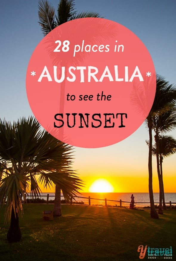 28 places in Australia to see the sunset