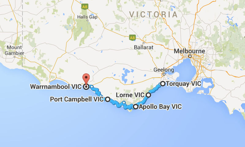 Map Of Victoria Australia With Cities And Towns.14 Best Road Trips In Australia