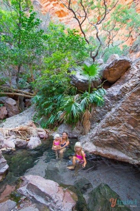 Zebedee Springs, El Questro, The Kimberley, Western Australia