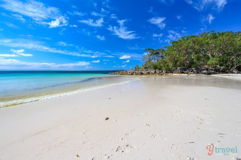 Green Patch Beach, Jervis Bay, NSW, Australia