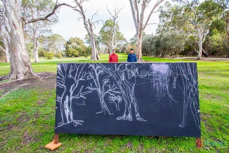 Observational Drawing Workshop with Jacob Logos in the Barossa Valley