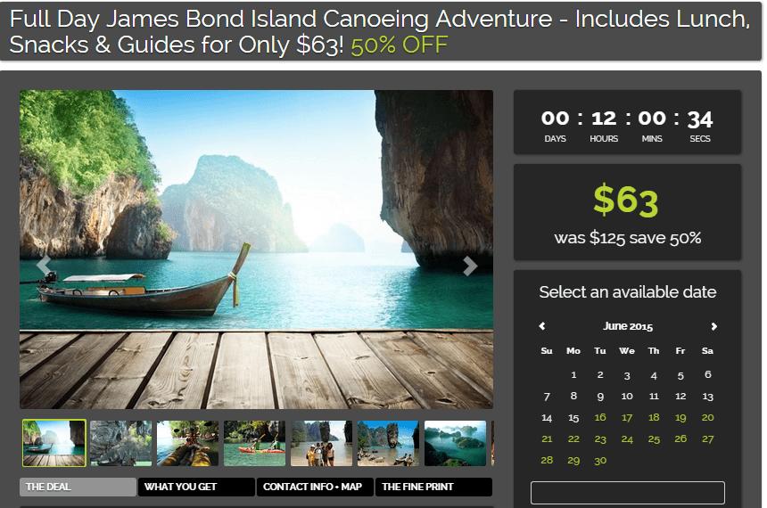 James Bond tour tripadeal