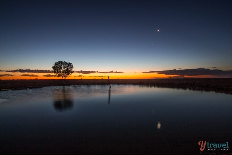 Sunset in Longreach, Outback Queensland