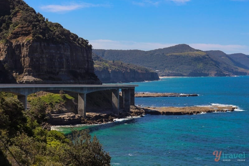 Sea Cliff Bridge, New South Wales - one of the best day trips from Sydney