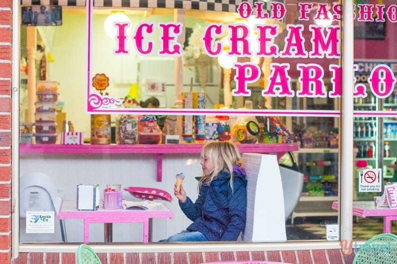 Annies Ice-Cream Parlour, Bathurst, NSW, Australia