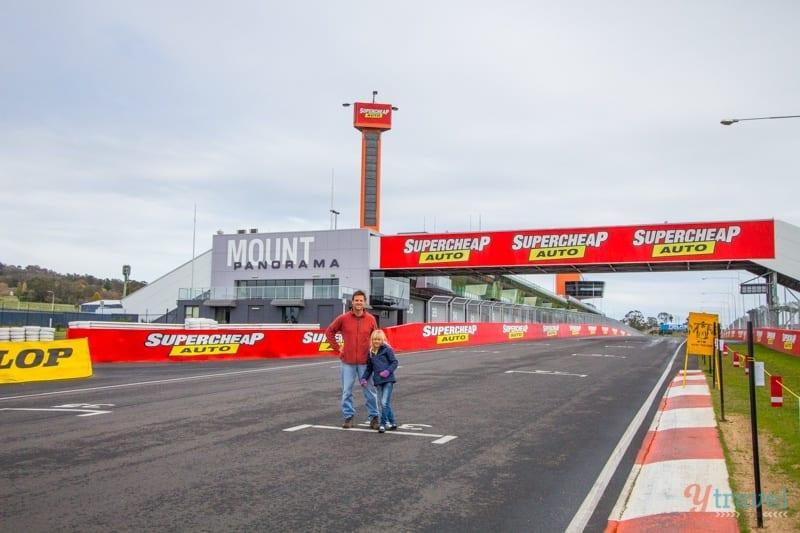 Mount Panorama Racing Circuit, Bathurst, NSW, Australia
