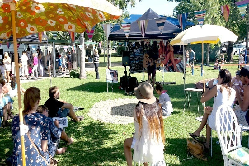 Village markets at Burleigh