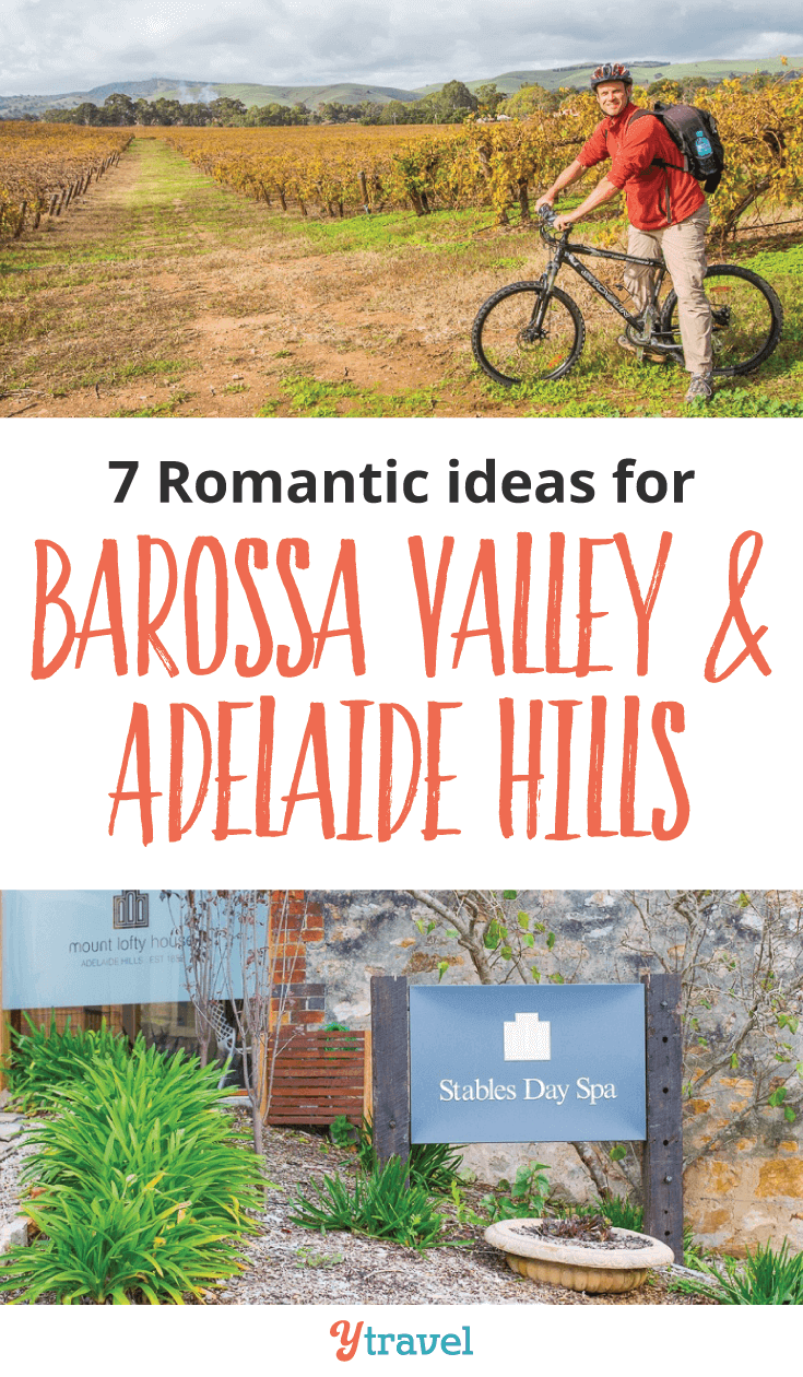 Do you love wine tasting? Come and check out Australia's best wine region at the Barossa Valley. Here are 7 ways to Relax and be Romantic in the Barossa Valley and Adelaide Hills in South Australia.