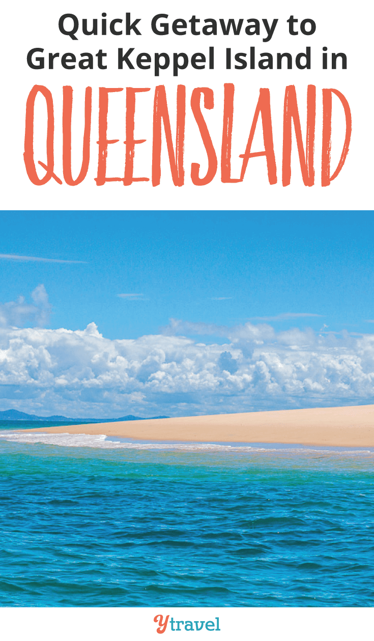 Escape the crowds in the Great Barrier Reef and head to Great Keppel Island for a quick getaway.