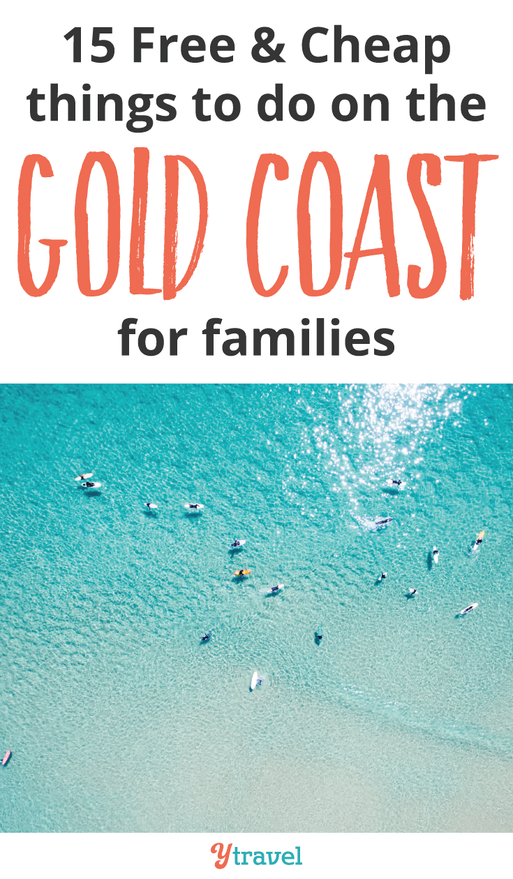 Are you planning a family holiday to the Gold Coast? Here are 15 free & cheap things to do on the Gold Coast for families.