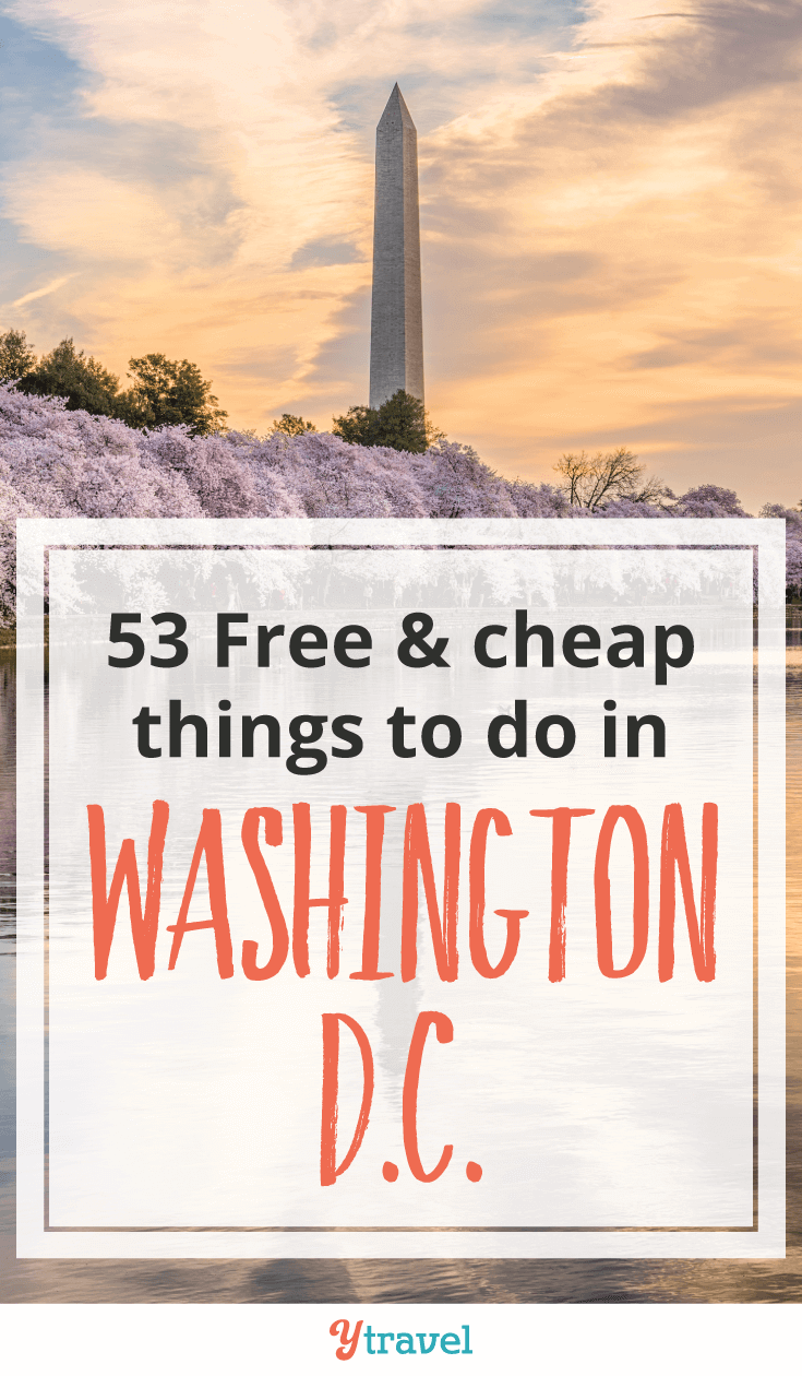 free and cheap things to do in washington dc