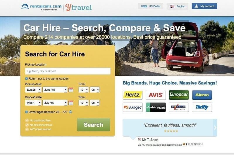 How to search for cheap rental cars