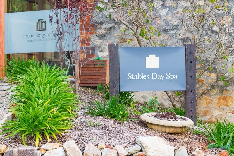 Get a massage at the day spa at Mt Lofty House in the Adelaide Hills, South Australia