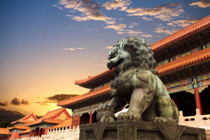 Forbidden city by Shutterstock