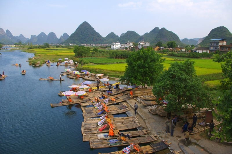 Photo: Guilin landscape by Shutterstock