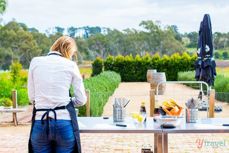 Jacob's Creek Cooking Class, Barossa Valley, South Australia