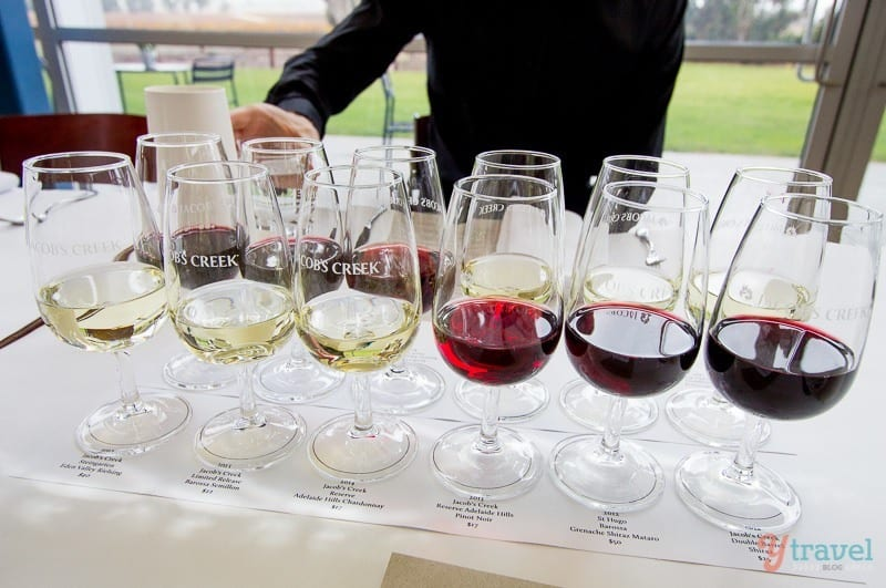 Jacob's Creek Food & Wine Masterclass, Barossa Valley, South Australia