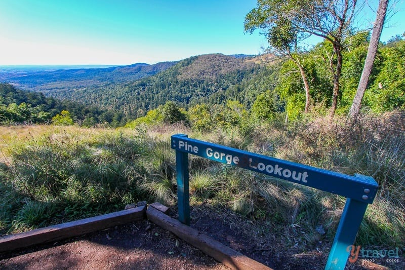 The Bunya Mountains in Queensland, Australia