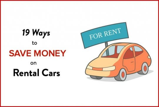 Finding Cheap Rental Cars