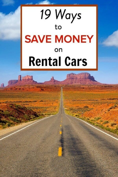 19 tips for finding cheap rental cars. Plus the best website for searching and booking your next car rental.