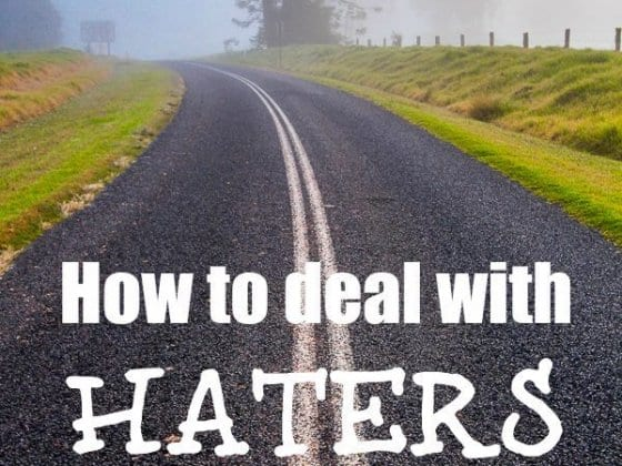 Who are you letting dictate your life? (How to deal with haters)