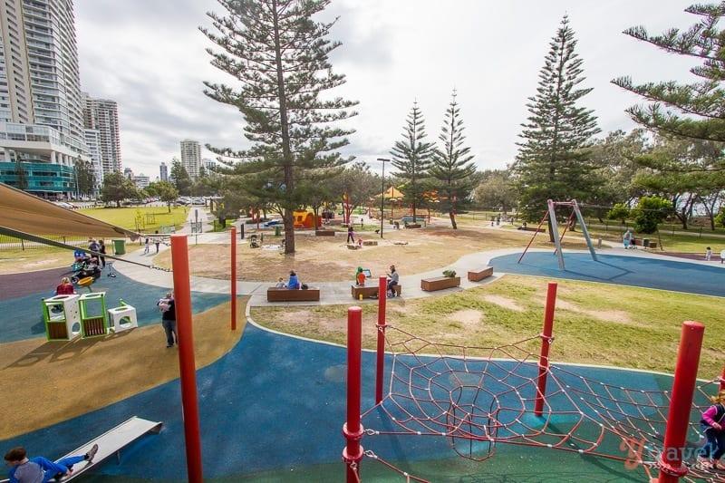 Broadbeach playground, Gold Coast