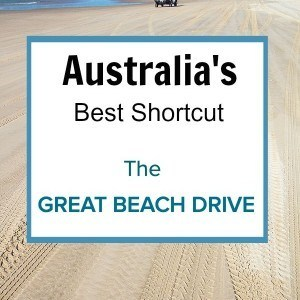 Australia's best shortcut - The Great Beach Drive in Queensland