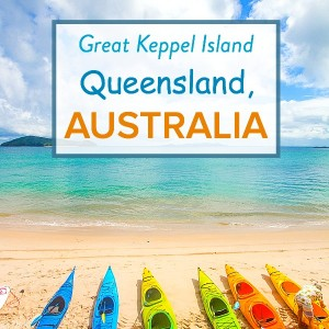 Getaway to Great Keppel Island when you visit Queensland, Australia