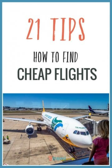 21 tips for finding cheap flights