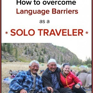 4 TIPS - How to overcome language barriers as a solo traveler