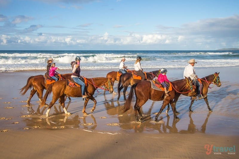 Rainbow Beach Horse Rides, Queensland, Australie