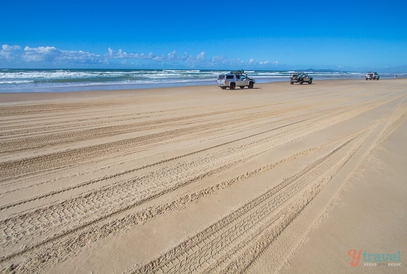 The Great Beach Drive, Queensland, Australia