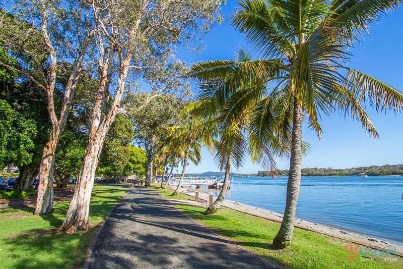 Noosaville on the Sunshine Coast, Queensland, Australia